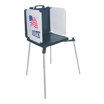 ADA Compliant Voting Booths