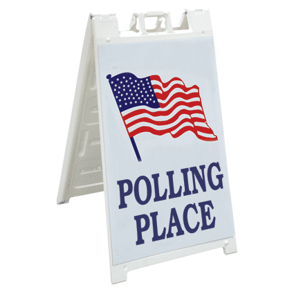 """""""Big Show""""  Polling Place Sign"""